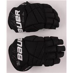 Chris Kelly Signed Pair of Game-Used Hockey Gloves (Kelly Hologram)