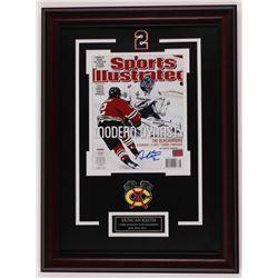 Duncan Keith Signed Chicago Blackhawks 17x23 Custom Framed Photo Display (YSMS COA)