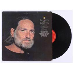 "Willie Nelson  Kris Kristofferson Signed ""Sings Kristofferson"" Record Album Inscribed ""Peace"" (JSA C"