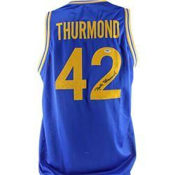 Nate Thurmond Signed Jersey (PSA COA)