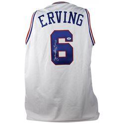 Julius Erving Signed Jersey (PSA COA)