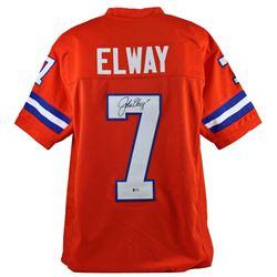John Elway Signed Jersey (Beckett COA)