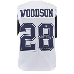 "Darren Woodson Signed Jersey Inscribed ""3x SB Champs"" (Beckett COA)"
