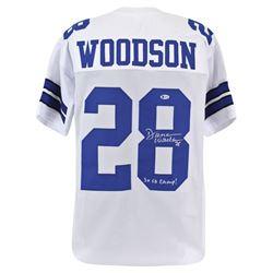 "Darren Woodson Signed Jersey Inscribed ""3x SB Champ"" (Beckett COA)"