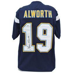 Lance Alworth Signed Jersey (Beckett COA)