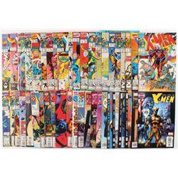 "Lot of (56) 1991-2008 ""X-Men"" 1st Series Marvel Comic Books"