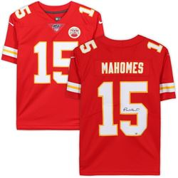 Patrick Mahomes Signed Chiefs NFL 100 Jersey (Fanatics Hologram)