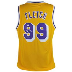 """Chevy Chase Signed Jersey Inscribed """"Fletch"""" (PSA COA)"""