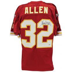 """Marcus Allen Sighed Chiefs Jersey Inscribed """"HOF 03"""" (Beckett COA)"""