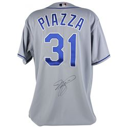 Mike Piazza Signed Dodgers Jersey (PSA COA)