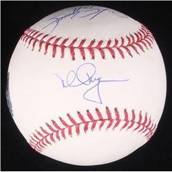 Mark McGwire  Sammy Sosa Signed OML Baseball (Steiner COA  MLB Hologram)
