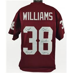 Roy Williams Signed Jersey With (4) Inscriptions (Beckett COA)