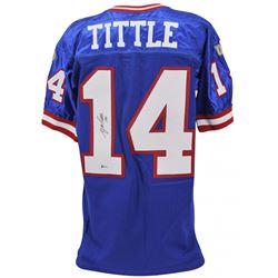 Y. A. Tittle Signed Giants Jersey (JSA COA)