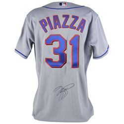 Mike Piazza Signed Mets Jersey (PSA COA)