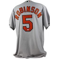 "Brooks Robinson Signed Orioles Jersey Inscribed ""2x WS Champ"" (PSA COA)"