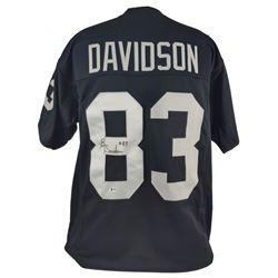 Ben Davidson Signed Jersey (Beckett COA)