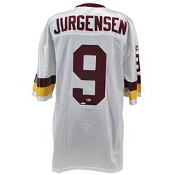 Sonny Jurgenson Signed Redskins Jersey (Beckett COA)