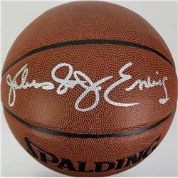 "Julius ""Dr. J"" Erving Signed NBA Basketball (PSA LOA)"