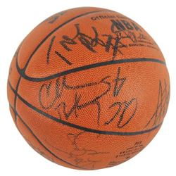 1994-95 Phoenix Suns NBA Basketball Team-Signed by (17) with Charles Barkley, A.C. Green, Danny Aing