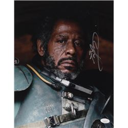 """Forest Whitaker Signed """"Rogue One: A Star Wars Story"""" 11x14 Photo (JSA COA)"""
