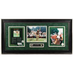 "Jack Nicklaus Signed 17x35 Custom Framed Photo Display Inscribed ""All The Best"" (JSA COA)"