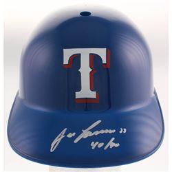 "Jose Canseco Signed Texas Rangers Batting Helmet Inscribed ""40/40"" (TriStar Hologram)"