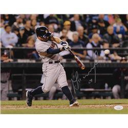 Jose Altuve Signed Astros 11x14 Photo (JSA COA)