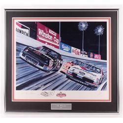 "Gary Hill LE ""The Winston 1993"" 26.5x29.5 Custom Framed Print Display (PA LOA)"