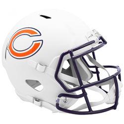 Bears Full-Size Matte White Speed Helmet