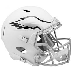 Eagles Full-Size Matte White Speed Helmet