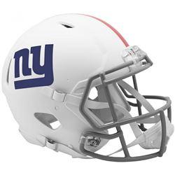 Giants Full-Size Authentic On-Field Matte White Speed Helmet
