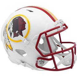Redskins Full-Size Authentic On-Field Matte White Speed Helmet