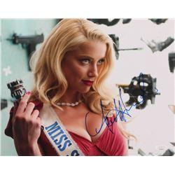 "Amber Heard Signed ""Machete Kills"" 11x14 Photo (JSA COA)"