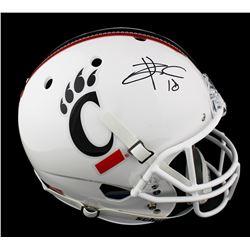Travis Kelce Signed Cincinnati Bearcats Full-Size Helmet (Radtke COA)