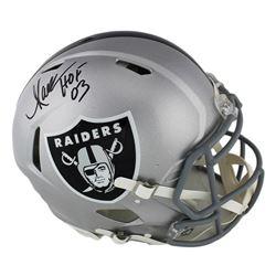 Marcus Allen Signed Raiders Full-Size Authentic On-Field Speed Helmet (Radtke COA)
