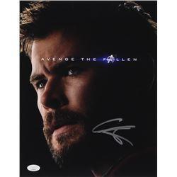 """Chris Hemsworth Signed """"Avengers: Endgame"""" 11x14 Photo (JSA COA)"""