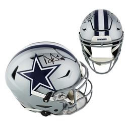 Dak Prescott Signed Cowboys Full-Size Authentic On-Field SpeedFlex Helmet (Radtke COA)