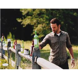 """Andrew Lincoln Signed """"The Walking Dead"""" 11x14 Photo (JSA COA)"""