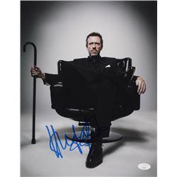 "Hugh Laurie Signed ""House"" 11x14 Photo (JSA COA)"