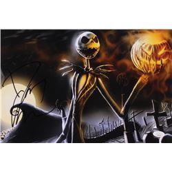 "Danny Elfman Signed ""The Nightmare Before Christmas"" 10x15 Photo (JSA COA)"
