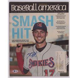 "Kris Bryant Signed 2014 ""Baseball America"" Magazine (Beckett COA)"