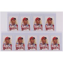 Lot of (9) Ray Dandridge Signed 1980-02 Perez-Steele Hall of Fame Postcards #197 (JSA COA)
