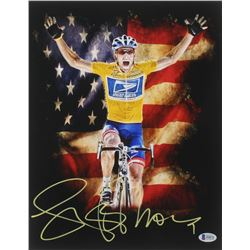 Lance Armstrong Signed 11x14 Photo (Beckett COA)