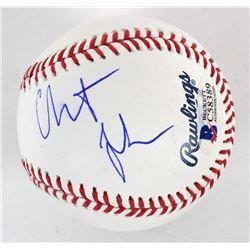 Christian Bale Signed OML Baseball (Beckett COA)