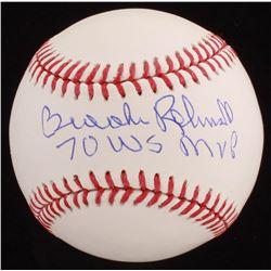"Brooks Robinson Signed OML Baseball Inscribed ""70 WS MVP"" (JSA COA)"