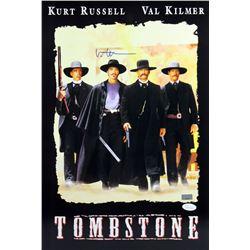 """Val Kilmer Signed """"Tombstone"""" 12x18 Photo (JSA COA)"""