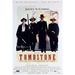 """Val Kilmer Signed """"Tombstone"""" 12x18 Photo (Beckett COA)"""