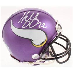 Harrison Smith Signed Vikings Mini Helmet (Beckett Hologram)