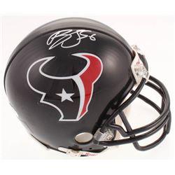 Brian Cushing Signed Texans Mini Helmet (JSA COA)