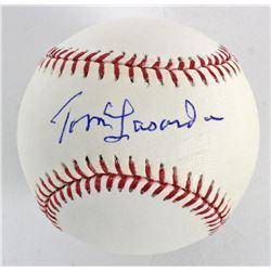 Tommy Lasorda Signed OML Baseball (PSA COA)